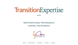 Transition Expertise website