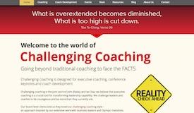 Challenging Coaching website